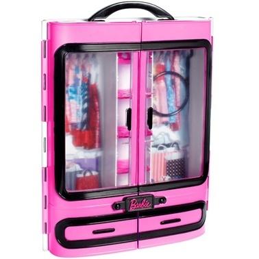 Barbie Barbie Pembe Gardrop DMT57 Renkli